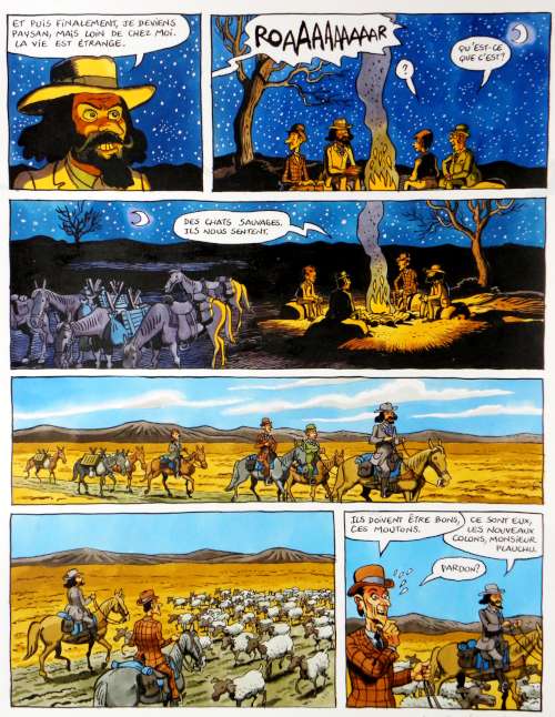 planche-originale-dumontheuil-le-roi-des-Mapuches2